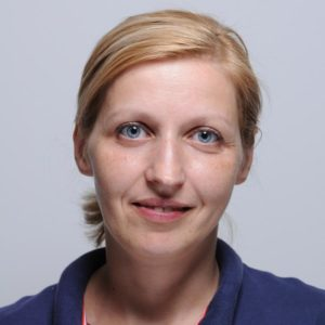 Cristina Catrinescu, adetta sala sterilizzazione