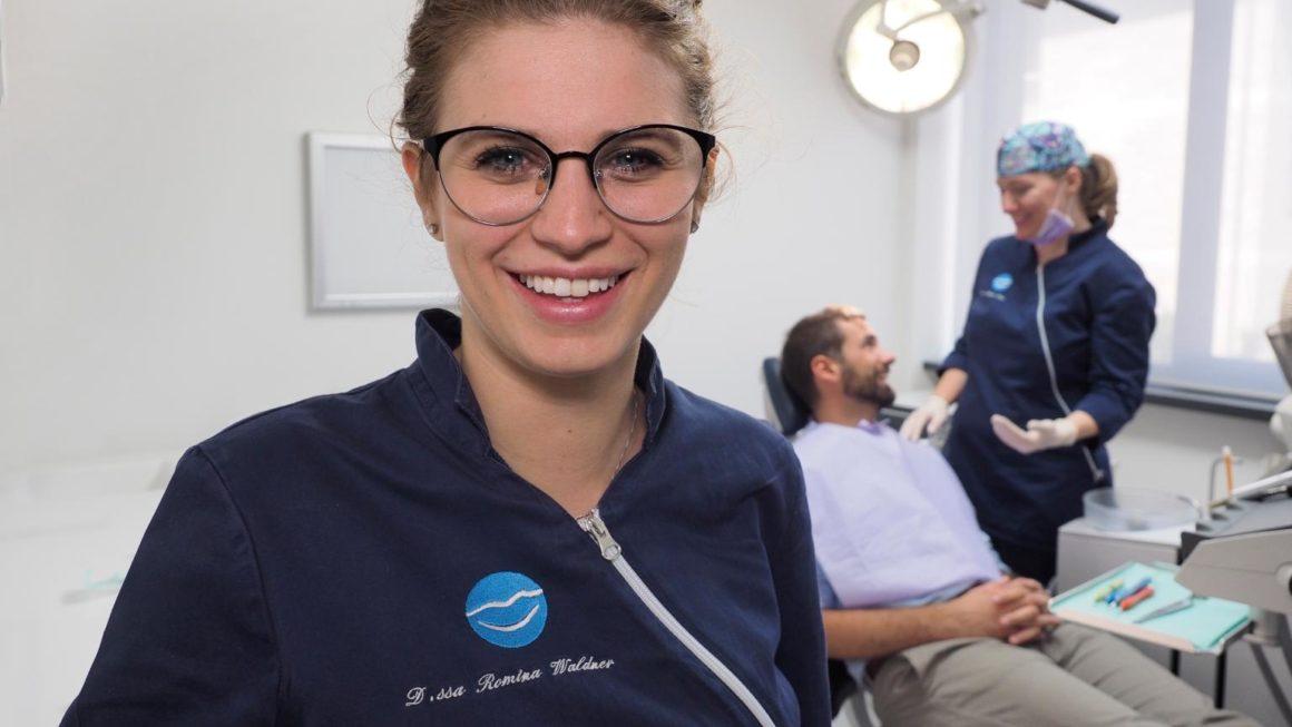 Una nostra igienista dentale