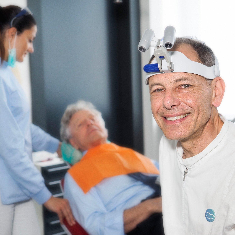 Dottor Tiziano Bombardelli, dentista odontoiatra